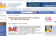 Mentorat Entrepreneurial : création de l'IME Seine Estuaire
